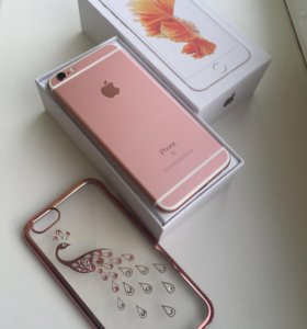 Продам iPhone 📱 6s/64 rose gold