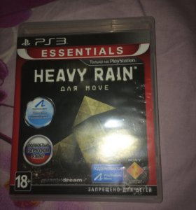 Игра на ps3 Heavy Rain