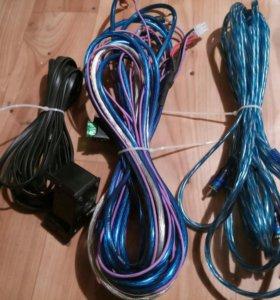 Провода на сабвуфер