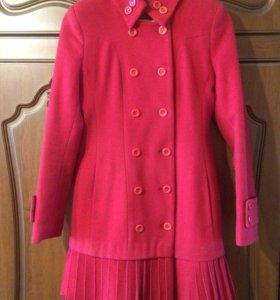 Пальто демисезонное, размер 40-42