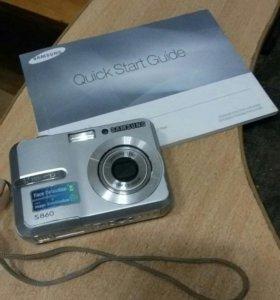 "Фотоаппарат ""SAMSUNG S 860"""