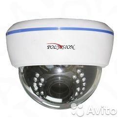 Купольная IP видеокамера PD71-M1-V12IR-IP