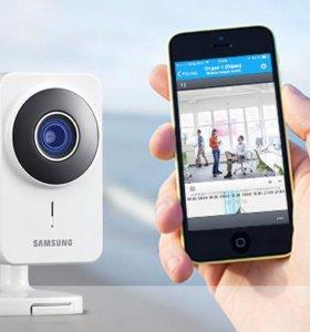 Установка систем видеонаблюдения(аналог,IP)