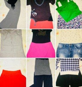 Юбки, шорты, комбенез, платье и другое