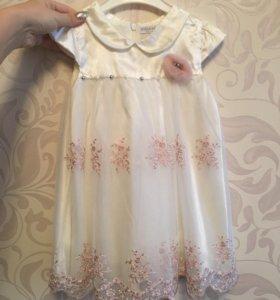Платье детское и балеро