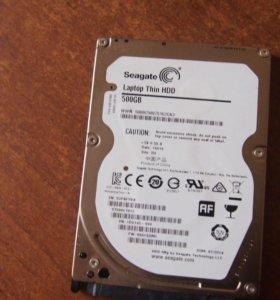 Жесткий диск для ноутбука 500гб