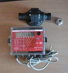 Электронный счётчик горячей воды