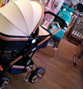 Детская коляска (новая) 2в1