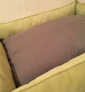 Лежанка Трикси зелена коричневая