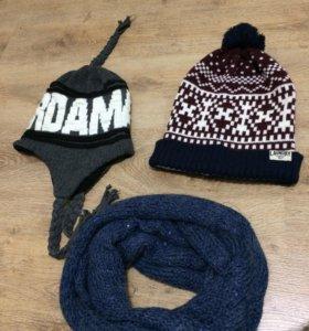 шарф шапки