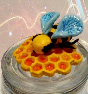 Баночка для мёда. Подарок.