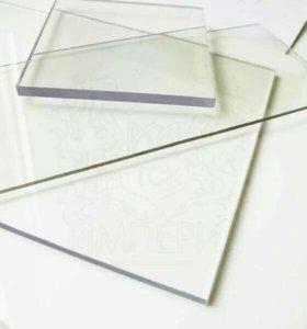 Монолитный поликарбонат прозрачный 5 мм толщина