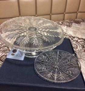 Набор для торта bohemia crystal