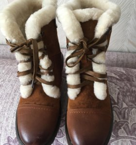 Ботинки зимние р.38 новые