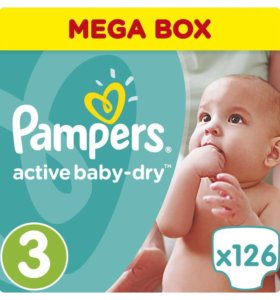 Pampers active baby-gry 3