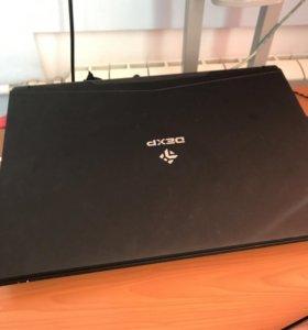 Игровой ноутбук марки Dexp