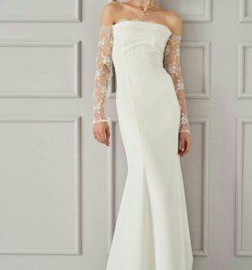 Дизайнерское новое свадебное платье ПРОКАТ