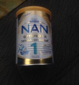 Детское питание NAN гипоаллергенный.