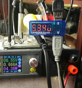 Амперметр,детектор батареи измеритель мощности