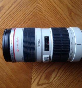 Canon EF 70-200 f/2.8L USM+ кофр и EF 16-35 f/2.8