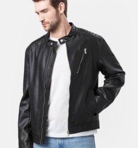 Новая кожаная куртка Ostin