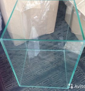 Аквариум на100 литров прямоугольный(69.5Х50Х29.5)