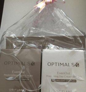 Набор кремов oriflame против пигментации Optimalsk