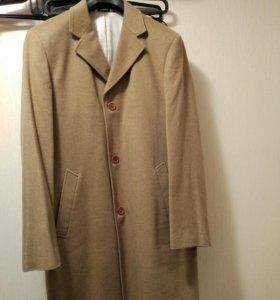 Новое мужское кашемировое пальто Cacharel