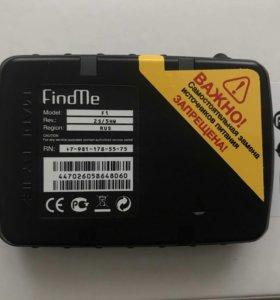 GPS ГЛОНАСС маяк FindMe F1