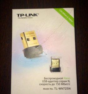 Wi-Fi usb адаптер TPlink.