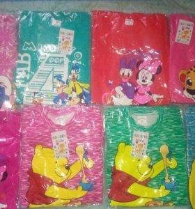 Продам детскую пижаму на 2,3,4,5,6,7 лет