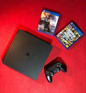 Sony PS4 1Tb+2 игры
