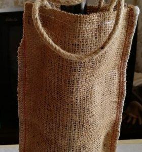 Мешок для вина из мешковины
