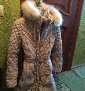 Куртка зимняя,удлиннённая