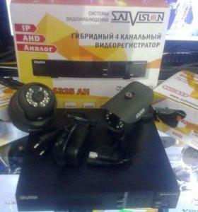 Комплект видеонаблюдения Satvision - 2