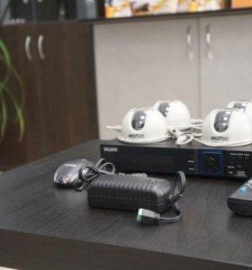Комплект видеонаблюдения в дом, офис