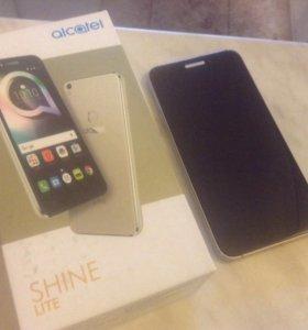 Алькатель Шайн вид нового телефона обмен