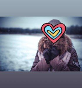 Продаю тёплую куртку (осень-зима)