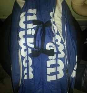 Сумка-рюкзак для большого тенниса