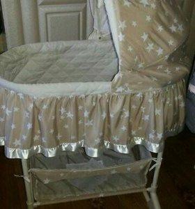 Детская кровать люлька .