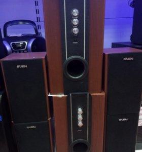 Новая акустика 2.1 sven