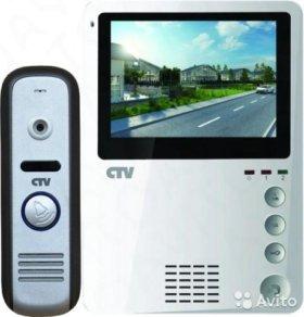 Комплект Цветной видеодомофон + вызывная панель