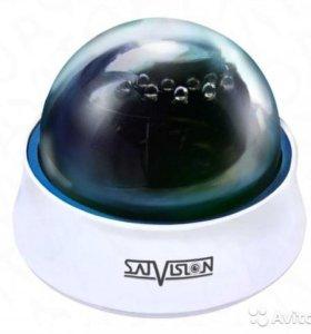 Купольная широкоугольная камера SVC-D69V
