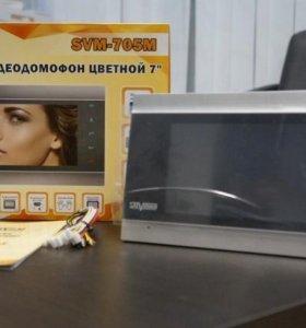 Цветной видеодомофон 7