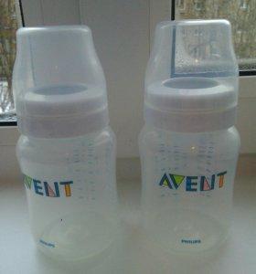 Бутылочки новые