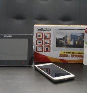 Видеодомофон IP Satvision с возможностью онлайна