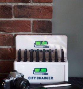Мобильное зарядное устройство ресторанов