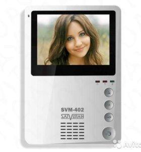 Бюджетный цветной видеодомофон