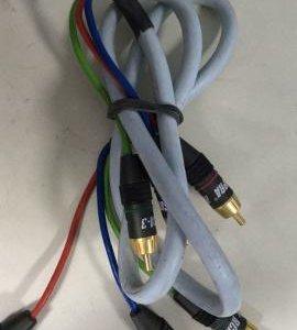 Компонентный кабель Supra AV-3 (made in Sweden)