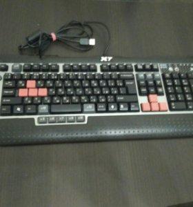 Игровая клавиатура A4tech x7 G800V + коврик a4tech